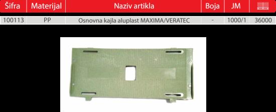 MAXIMA VERATEC GOTOVO