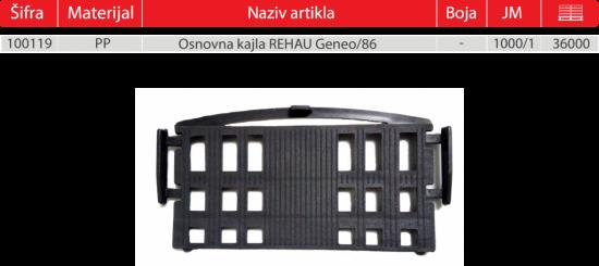 REHAU GENEO 86 GOTOVO