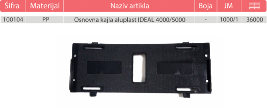 aluplast ideal 4000 GOTOVO